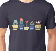 Flower pots Unisex T-Shirt