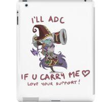 adc e support <3 iPad Case/Skin