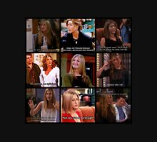 Rachel Green Quotes Collage Unisex T-Shirt