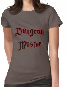 Red Glow Dungeon Master with Magical Font T-Shirt