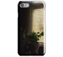 window sill in the morning iPhone Case/Skin