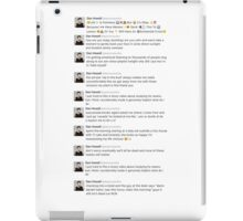 Dan howells recent tweets  iPad Case/Skin