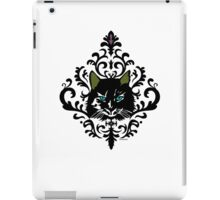 cat nap damask iPad Case/Skin