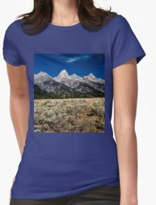 Grand Tetons Womens Fitted T-Shirt
