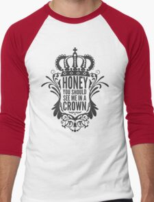 In A Crown - Deluxe Edition Men's Baseball ¾ T-Shirt