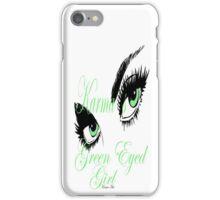 karmas green eyed girl IPHONE CASE iPhone Case/Skin