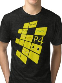We See The Truth - Angled TVs Tri-blend T-Shirt