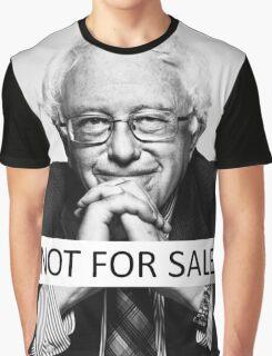 "Bernie Sanders - ""Not for Sale"" Graphic T-Shirt"
