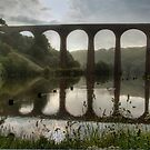 """Bridging The Gap"" Whitby, North Yorkshire by Bradley Shawn  Rabon"