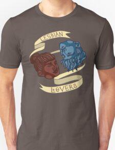 Lesbian Lovers Unisex T-Shirt