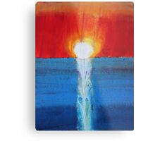 Incandescence original painting Metal Print