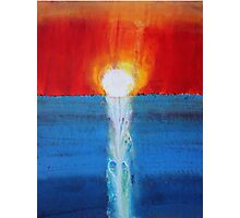 Incandescence original painting Photographic Print