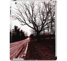 Road in Red iPad Case/Skin