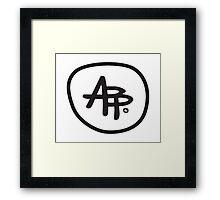 Monogram Framed Print