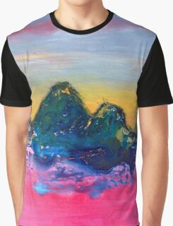Watching Sunset (in the Other World) Graphic T-Shirt