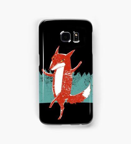 Fox dance  Samsung Galaxy Case/Skin