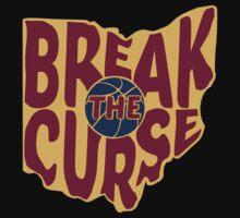 Break The Cleveland Curse Kids Tee