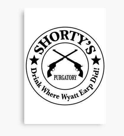 Shorty's Saloon from Wynonna Earp Canvas Print