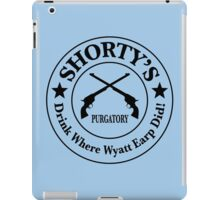 Shorty's Saloon from Wynonna Earp iPad Case/Skin