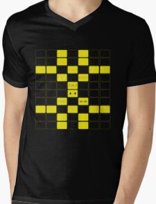 We See The Truth - TV Grid Mens V-Neck T-Shirt
