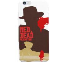 Red Dead Redemption #4 iPhone Case/Skin