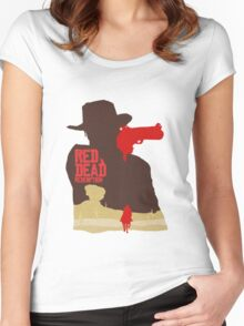 Red Dead Redemption #4 Women's Fitted Scoop T-Shirt