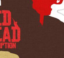 Red Dead Redemption #4 Sticker