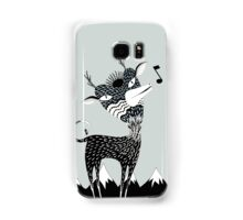 Singing Deer of the Shaggy Mountains Samsung Galaxy Case/Skin