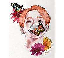 My Beautiful Butterfly - Chen Photographic Print