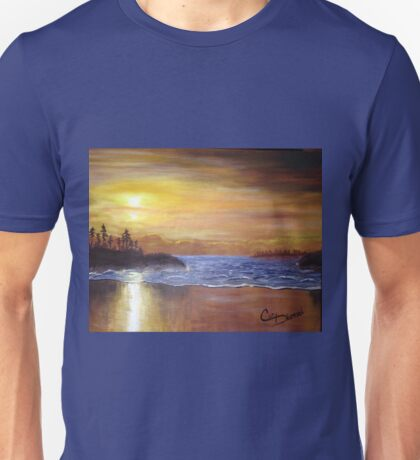Serenity at Mackenzie Beach Unisex T-Shirt