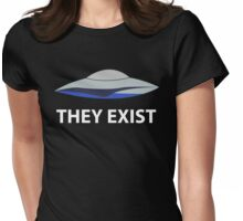 They Exist - Amy Acker Womens Fitted T-Shirt