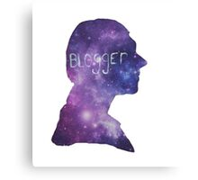Blogger - John Watson  Canvas Print