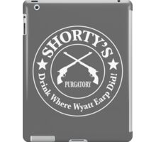 Shorty's Saloon from Wynonna Earp in white iPad Case/Skin