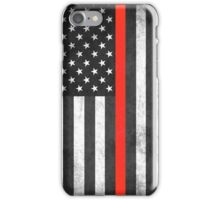 Thin Red Line iPhone Case/Skin