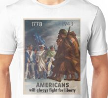 Vintage poster - World War II Unisex T-Shirt