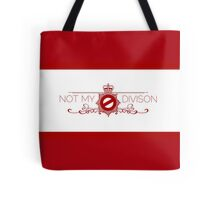 Not My Division Tote Bag