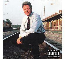 Clinton's Mix Tape Photographic Print