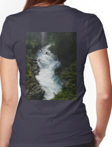 The Gorge Womens Fitted T-Shirt