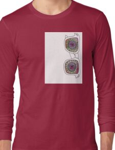 Trippy Shades  Long Sleeve T-Shirt