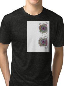 Trippy Shades  Tri-blend T-Shirt