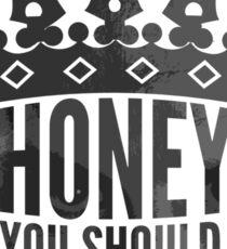 In A Crown Sticker