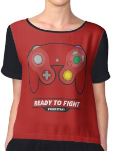Color Changing Gamecube Controller Chiffon Top