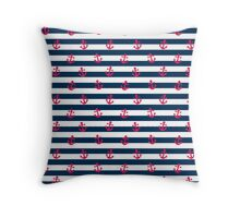 Sailor Print Throw Pillow