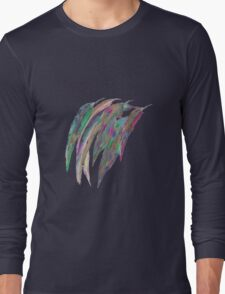 Abstract gum leaves 2 Long Sleeve T-Shirt