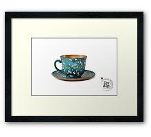 TeaVanGogh - Almond Blossoms Framed Print
