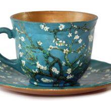 TeaVanGogh - Almond Blossoms Sticker
