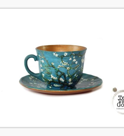 TeaVanGogh - Almond Blossoms Sticker