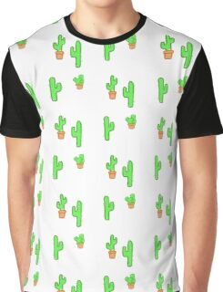 Potted Cacti Graphic T-Shirt