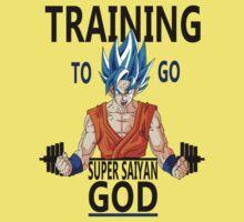 Training to go super saiyan god One Piece - Short Sleeve