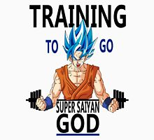 Training to go super saiyan god Unisex T-Shirt